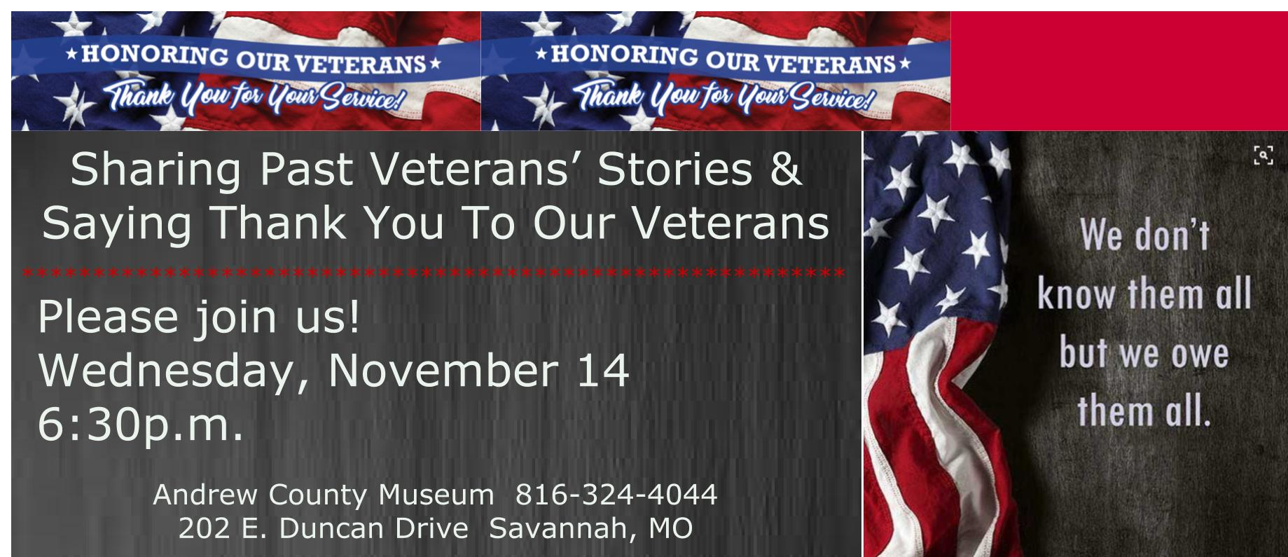 Veterans' Program 11-2018